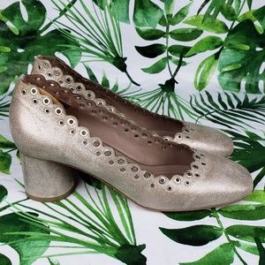 Donald J. Pliner Shoes - Donald J. Pliner Cary scalloped heels 8.5M